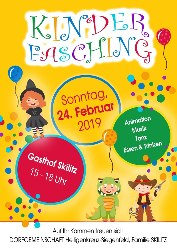 Kinderfasching2019